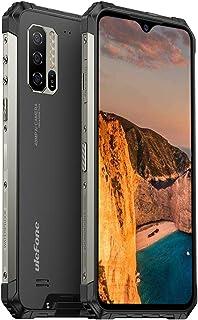 Ulefone Armor 7は室外スマートフォン、Helio P 90 Octa Core 8 GB RAM+128 GB ROM、48 MPカメラ、6.3インチFHD+、Android 9.0 IP 68防水携帯電話、5500 ms電池、Q...