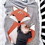 huxun bebé Kids–Manta para swaddle, Toddler Bebé Niños Lovely Fox suave...