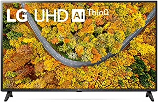 "2021 Smart TV LG 43"" 4K UHD 43UP7500 WiFi Bluetooth HDR ThinQAI compatível com Inteligência Artificial"