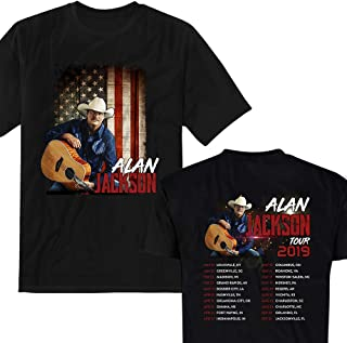 3c03c15265f Alan Singer Jackson Country Music Tour 2019 Big Fans Customized T-Shirt/Long  Sleeve