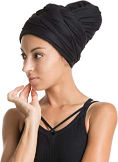 Stretch Jersey Turban Head Wrap, Urban Hair Scarf - Fantastic Soft, Extra Long, Good Price