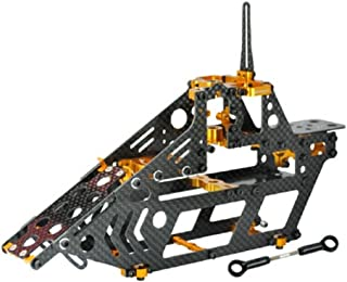 Microheli Aluminum/Carbon Fiber Main Frame (GOLD) - BLADE 300X