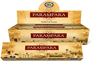 Incense Sticks ParamparaサイクルAgarbatti 3?–?12パックMasala Sticksフローラルな香り 12 Pack