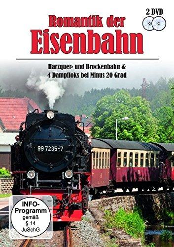Romantik der Eisenbahn - Harzquer- und Brockenbahn & 4 Dampfloks bei Minus 20 Grad [2 DVDs]