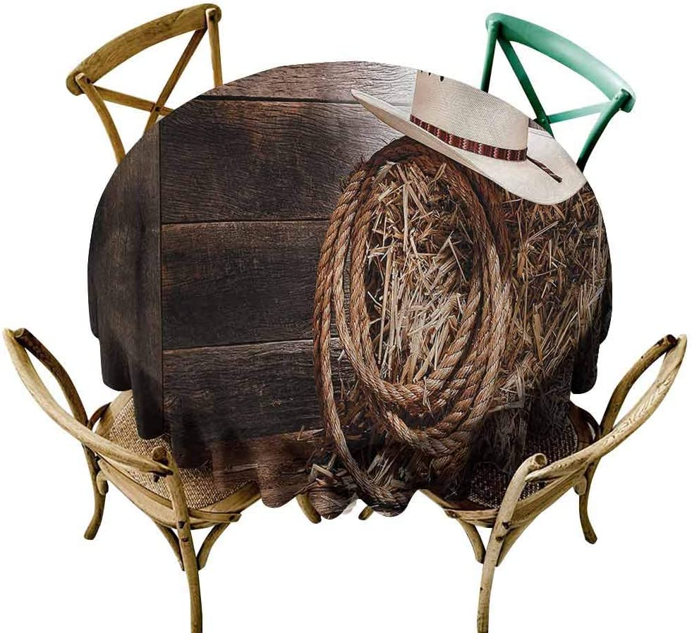 新入荷 流行 UETECH Overlays Round Tablecloth Western Folk Wooden Ta Robe 安い Hat