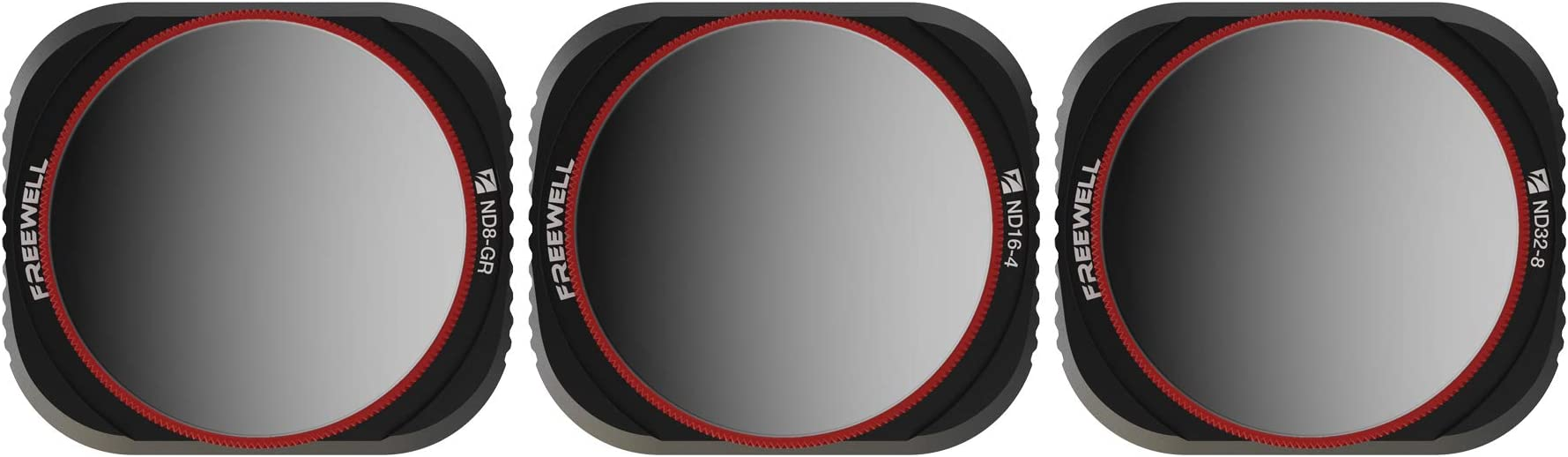 Freewell Landscape Gradient – 4K Series – 3Pack ND8-GR, ND16-4,ND32-8 Camera Lens Filters Compatible with Mavic 2 Pro Drone