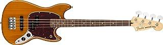 Fender Mustang Bass - PJ - Pau Ferro Fingerboard - Aged Natural