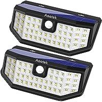 2 Pack Aootek DG44 Motion Sensor Waterproof Wall Light (White)