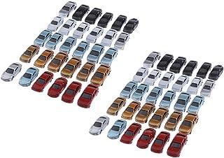 sharprepublic 60 st. målade modellbilar modellbil bilmodell färdig modell av plast