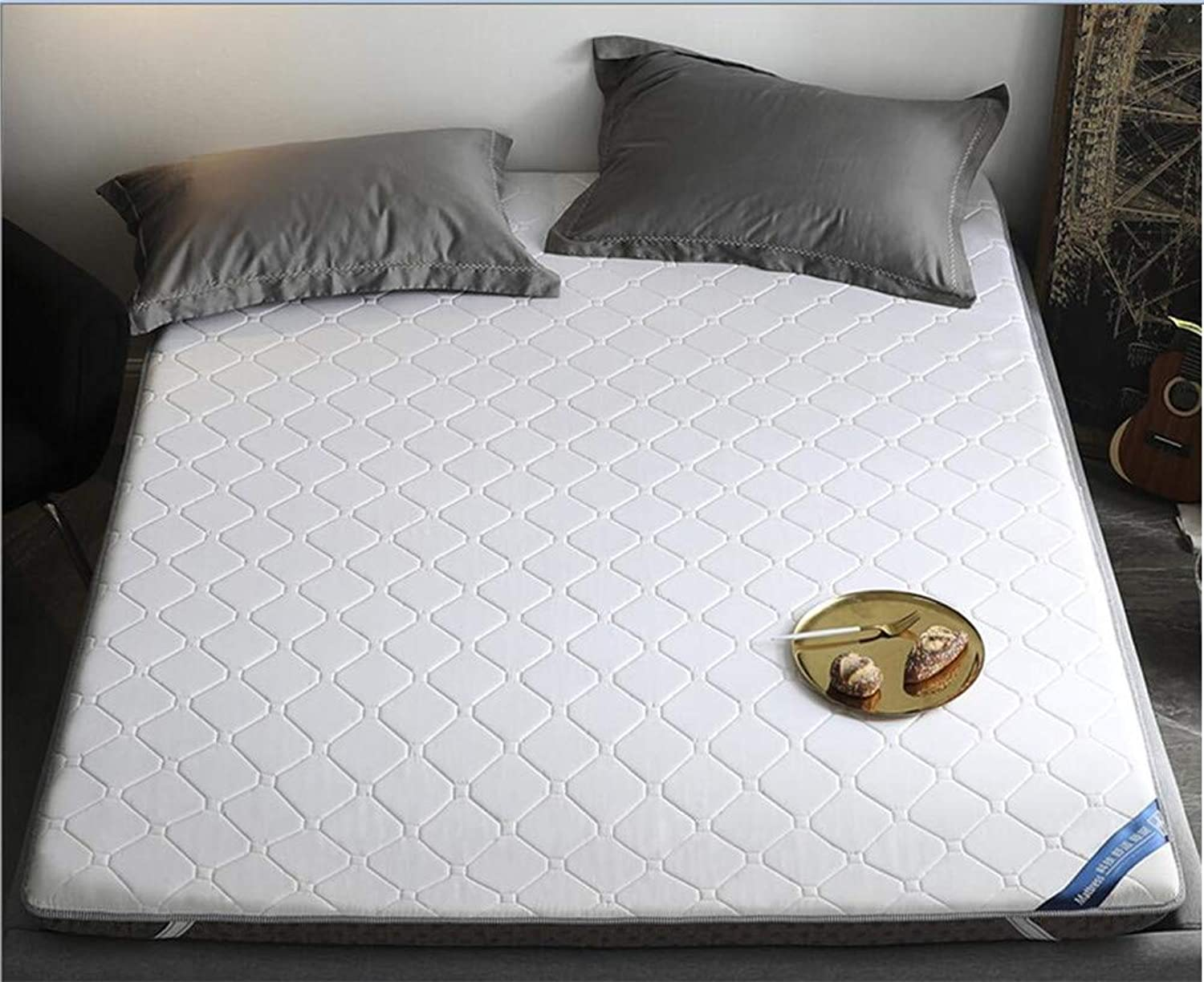 Padded Mattress,Antibacterial Single Double Tatami Mattress,for Student Dormitory Family Room-B 120x200cm(47x79inch)