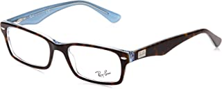 Ray-Ban Rx5206 Rectangular Prescription Eyeglass Frames