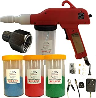 electrostatic gun powder coating