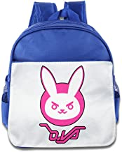 MoMo Unisex Overwatch Rabbit Kids School Backpack For Little Kids