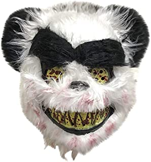 WDINN-mj Panda Mask Halloween Cosplay Carnival Costume Accessories Adults Party Decoration Props