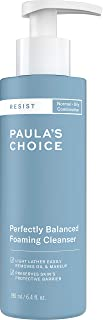 Paula's Choice RESIST Perfectly Balanced Foaming Cleanser, Hyaluronic Acid & Aloe, Anti-Aging Face Wash, Large Pores & Oily Skin, 6.4 Ounce