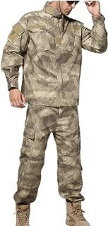 U.S. Army Camo BDU Combat Shirt Pant Uniform Tactics Set