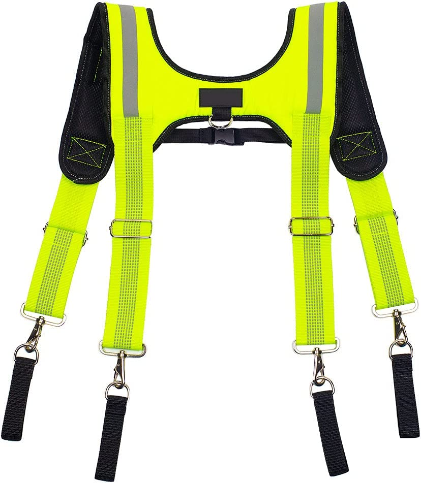 Tool Belt Braces Adjustable Max 86% OFF Work Suspension with Rig Max 52% OFF Slot Pencil
