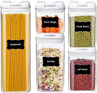 Boîte Rangement Des Aliments, Ensemble 5/6 / 7pcs Set Scellé Boîte Stockage Frais Stockage À L'humidité Multi-usage (Color...
