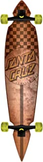 Longboard Check Stain Pintail 9.35