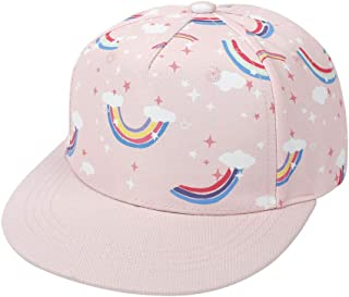 Baby Baseball Cap Boy Sun Hat, Kids Girls Baseball Cap Rainbow Sunhat Adjustable Spring Summer Autumn