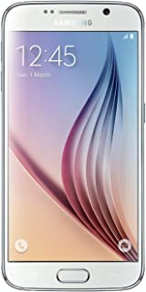 Samsung Galaxy S6 Factory Unlocked Android Smartphone - White