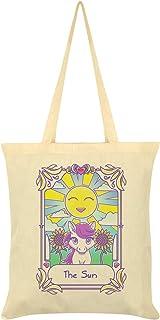 Deadly Tarot Kawaii The Sun Cream Tote Bag 38x44cm
