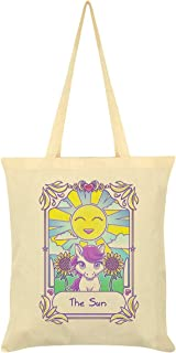 Deadly Tarot Kawaii The Sun Cream Tote Bag 38x44cm