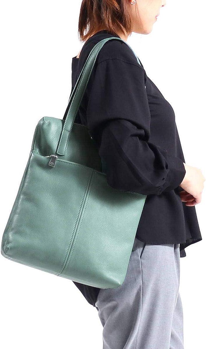 [アニアリ]aniary Shrink Leather シュリンクレザー トートバッグ 07-02009 ダークブラウン