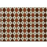 Tapetes para Mesa Materias de mesa de tela de placas de algodón de algodón de lino de poliéster,vajilla,herramienta de cocina,decoración de la fiesta de té Fácil de Limpiar