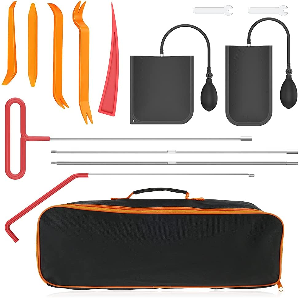 Welpettie Limited price 14pcs Car Tool Kit Professional Excellence Emergency