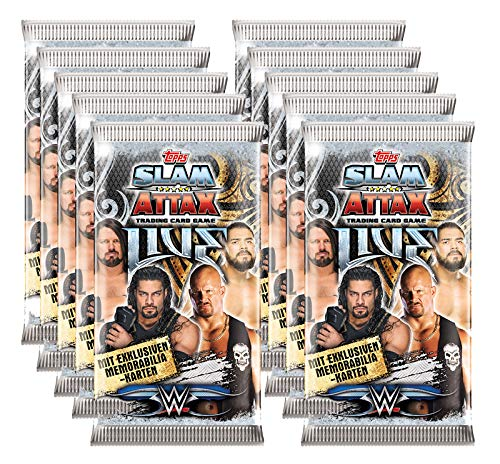 Slam Attax Topps - WWE Live - 10 Booster