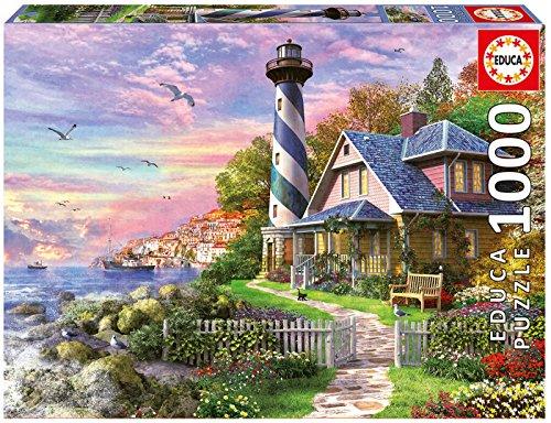 Educa 17740 1000 Leuchtturm in Rock Bay
