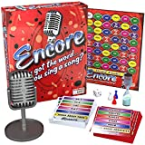 Endless Games Encore Board Game with Vintage Microphone - A High-Speed Singing Game