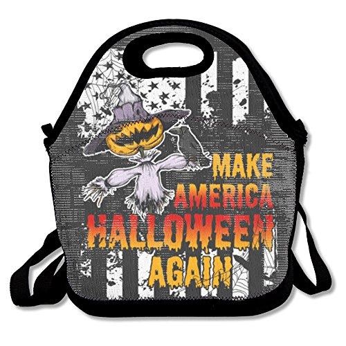 Make America Halloween Again déjeuner Sac fourre-tout Boîte à lunch pour l'école d'extérieur