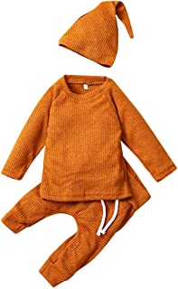 DOLYKUI 0-3 Years Baby Clothes, Autumn And Winter Long Sleeves Jacket Trousers Hat Baby Three Suit, Kids Fashion Christmas Valentine's Day Long Sleeve Clothes