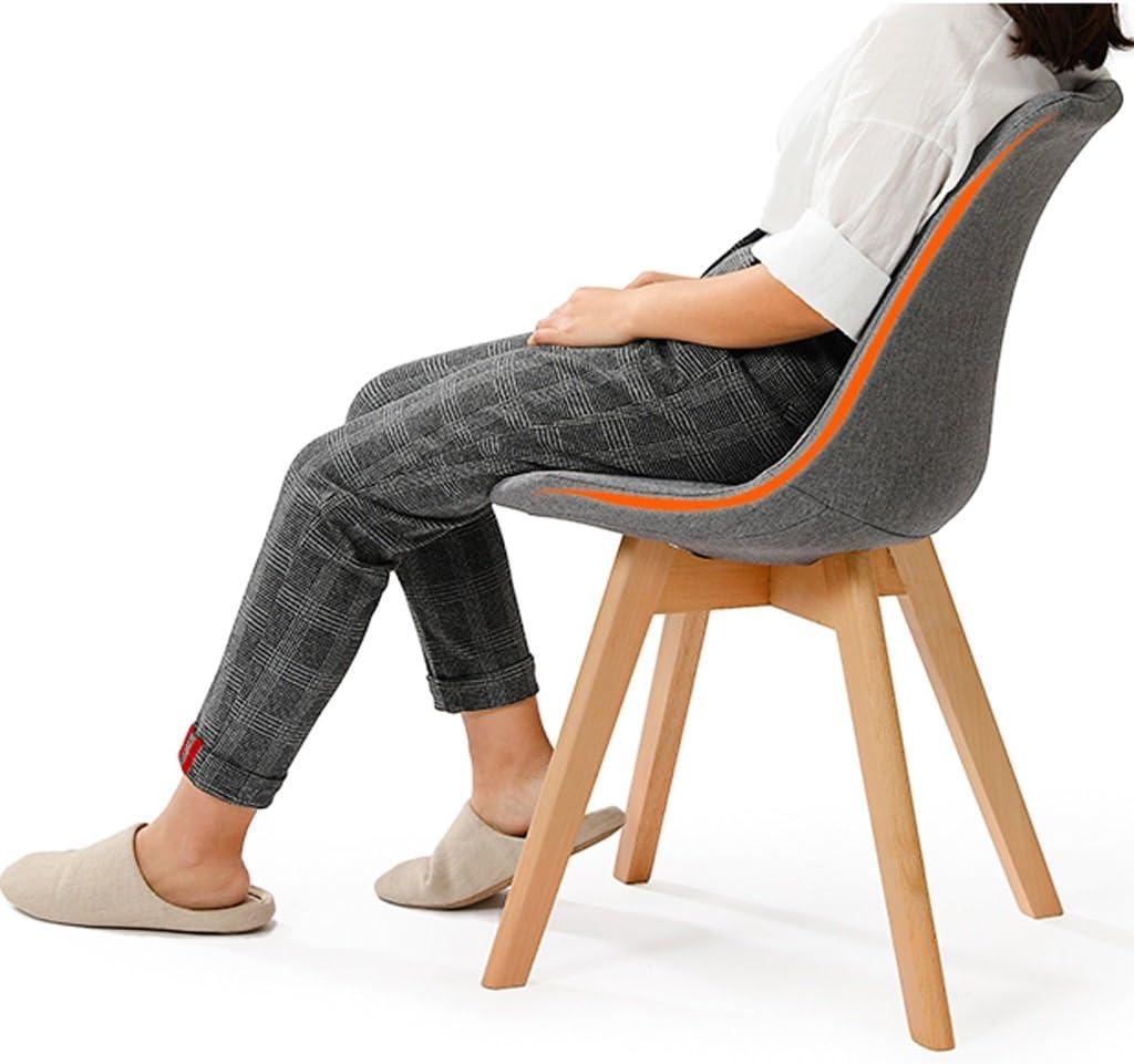 SLL- Chaise de Bureau en Bois Massif Dossier Chaise de Bureau Adulte Moderne (Color : D) B