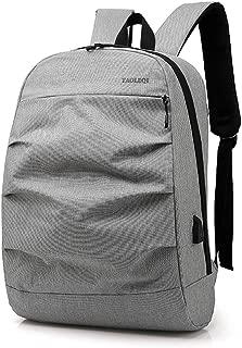 Bageek Mens Laptop Backpack School Backpack USB Port Travel Bag Student Backpack