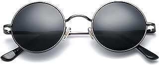 Retro Small Round Polarized Sunglasses for Men Women John Lennon Style