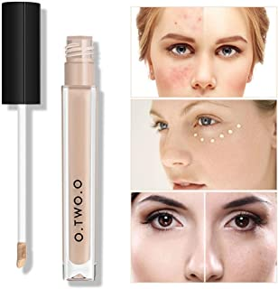 Hunputa Clean Invisible Lightweight Concealer , Wrinkles, Redness, Blemishes and Pore Cover,Full Covery Face Contour Cream Makeup (A)