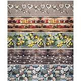 WohnDirect Funktioneller Läufer für Innen bis 10m Länge - Langlebiger Küchenläufer - Küchenteppich rutschfest und leicht abwaschbar - 100% Polyester - 50 x 250 cm