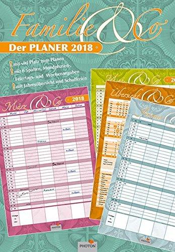 FAMILIE UND CO. Planer Kalender 2018