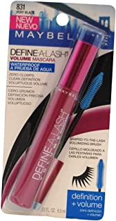 Maybelline Define-A-Lash Volume Mascara, Waterproof 831 Very Black 6.5ml