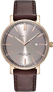 Gant Dress Watch for Men, Leather, Analog - GT006006