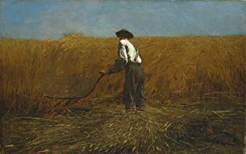 Berkin Arts Winslow Homer Giclee Canvas Print Paintings Poster Reproduction(The Veteran in A New Field) Large Size39 x 24.5 inches