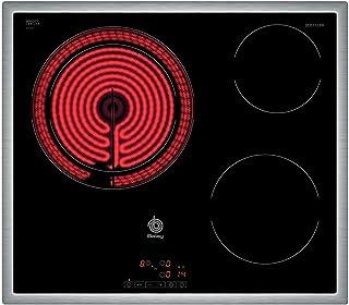 comprar comparacion Balay 3EB715XR - Placa de cocina vitrocerámica de 60 cm de ancho, marco de acero inoxidable, 3 zonas de cocción, control t...