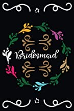 Bridesmaid: Best wedding journal for couple