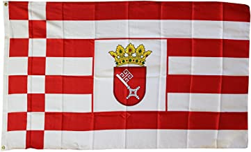 Bremen ~ 3' x 5' Dura-Poly Polyester German State Flag