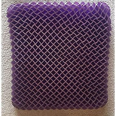 Purple Portable Seat Cushion - Seat Cushion For The Car Or Office Chair - Can Help In Relieving Back Pain & Sciatica Pain