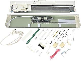 Lecxin Kit de Machine à Tricoter, SK840 Kit de Machine à Tricoter Machine à Tricoter électronique à 3 Aiguilles Accessoire...