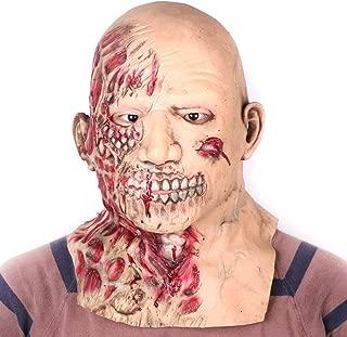Scary Halloween Mask Bloody Fancy Dress Men Women Costume Zombie Horror Theme Party Relastic Latex Prop